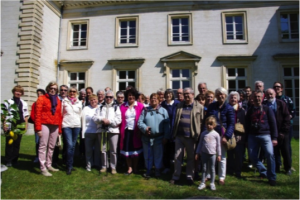 Juin 2015, un groupe de marcheurs, association Grain de Sel.